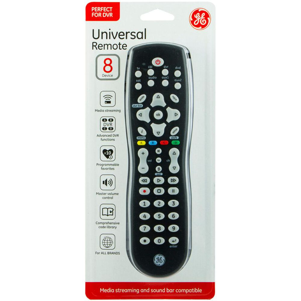 GE 8 Device Universal Remote, , large