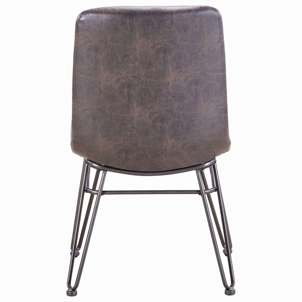 Steve Silver Derek Side Chair in Black, , large