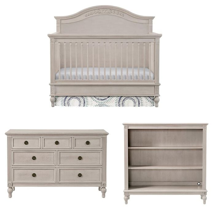 Eastern Shore Viola 3 Piece Nursery Set in Lace