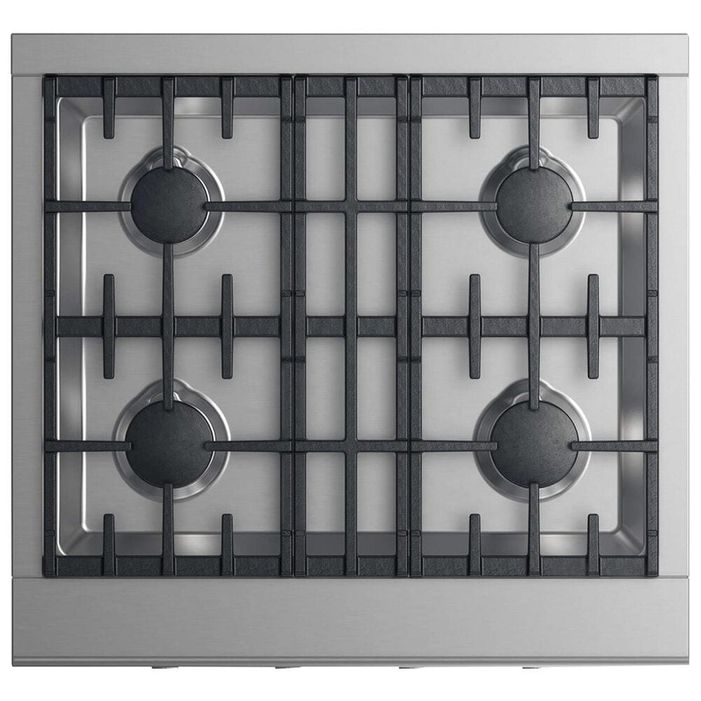 """Fisher and Paykel 30"""" Natural Gas Cooktop with 4-Burner in Stainless Steel, , large"""
