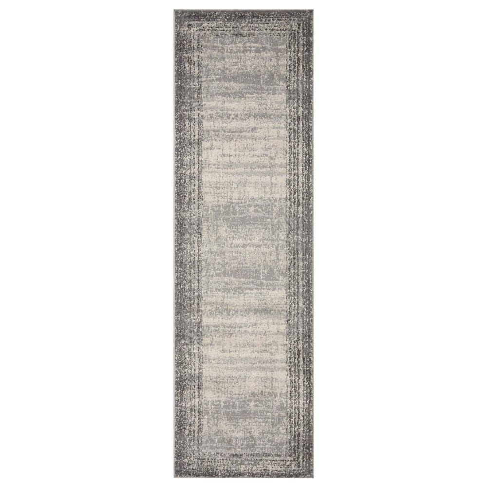 """Loloi II Austen AUS-02 2'4"""" x 10' Pebble and Charcoal Runner, , large"""
