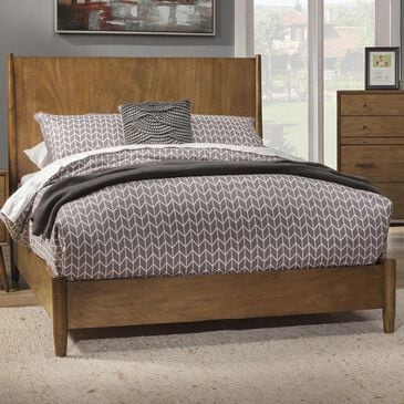 Alpine Furniture Flynn King Panel Bed in Acorn, , large
