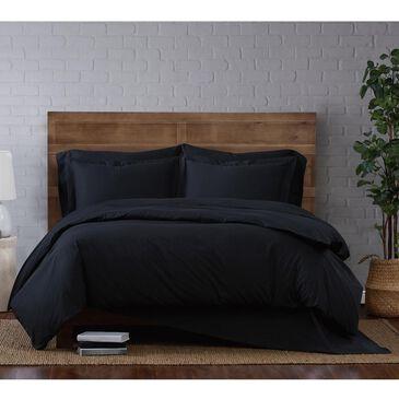 Pem America Brooklyn Loom Classic 3-Piece Full/Queen Duvet Set in Black, , large
