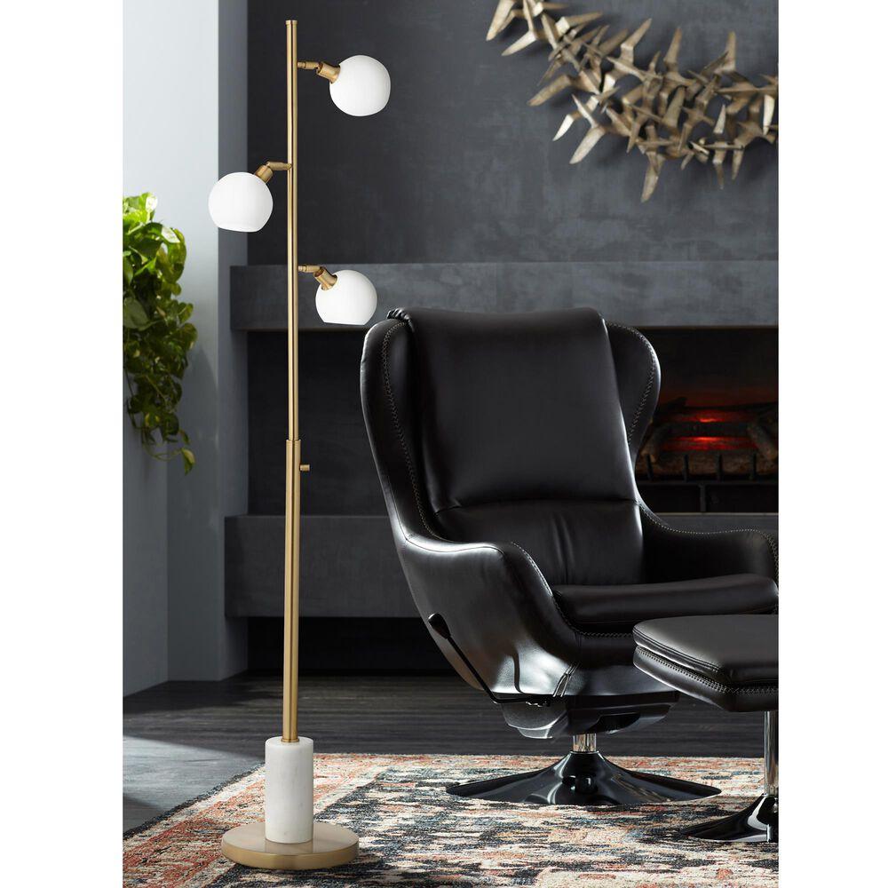 Pacific Coast Lighting Jaelynn Floor Lamp in Warm Gold, , large