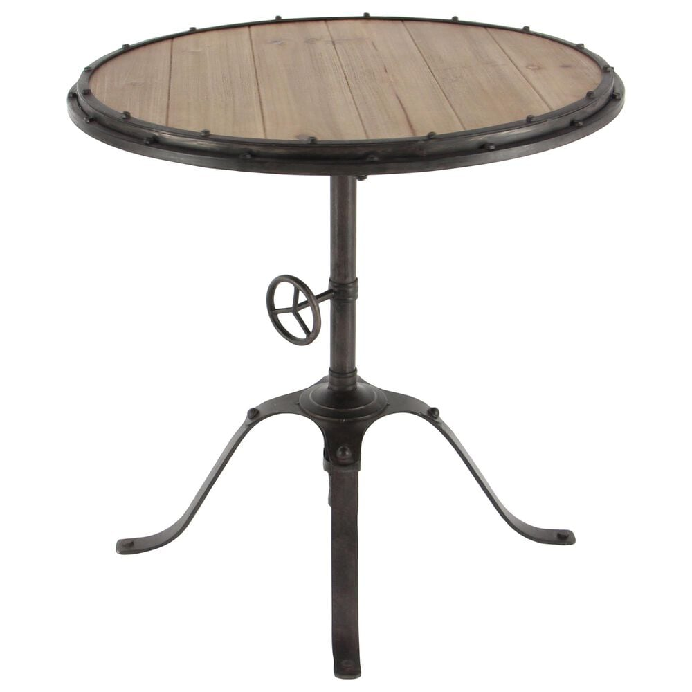 """Maple and Jade 30"""" Round Table in Black, , large"""