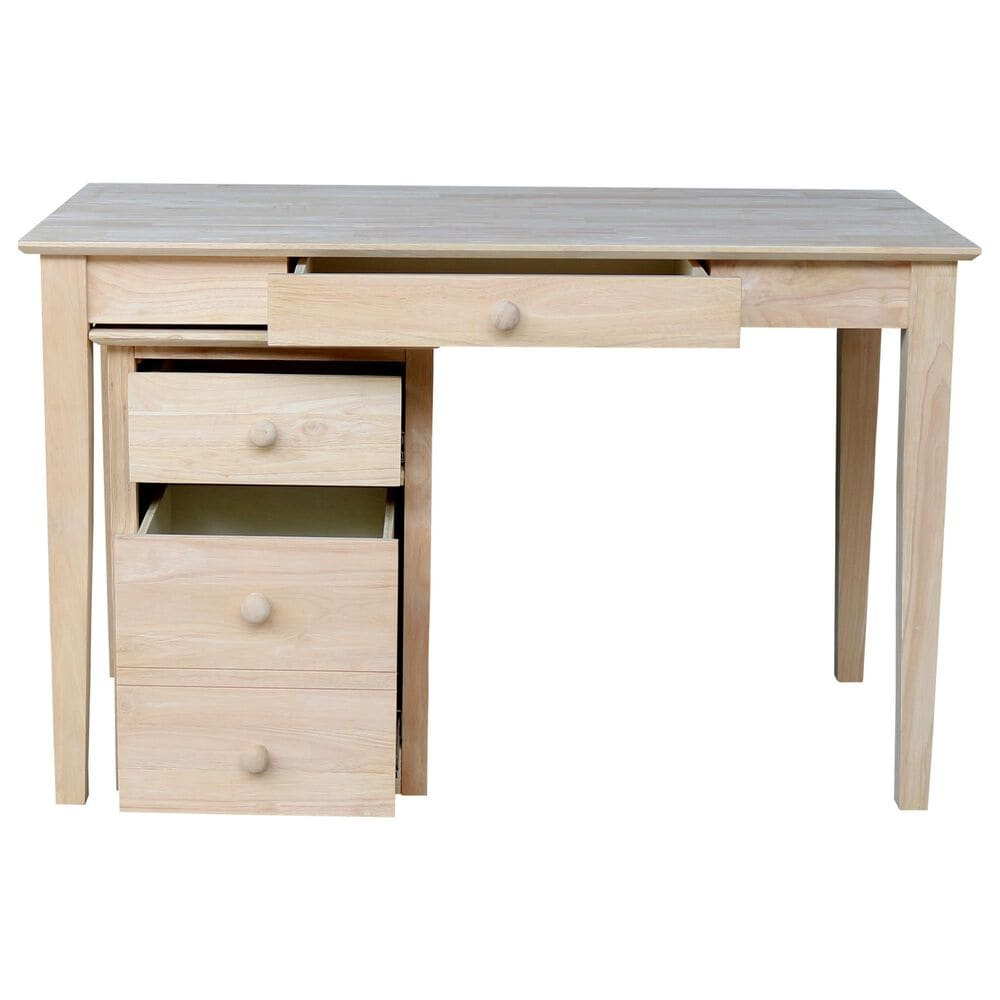 International Concepts 2-Piece Office Set in Unfinished, , large