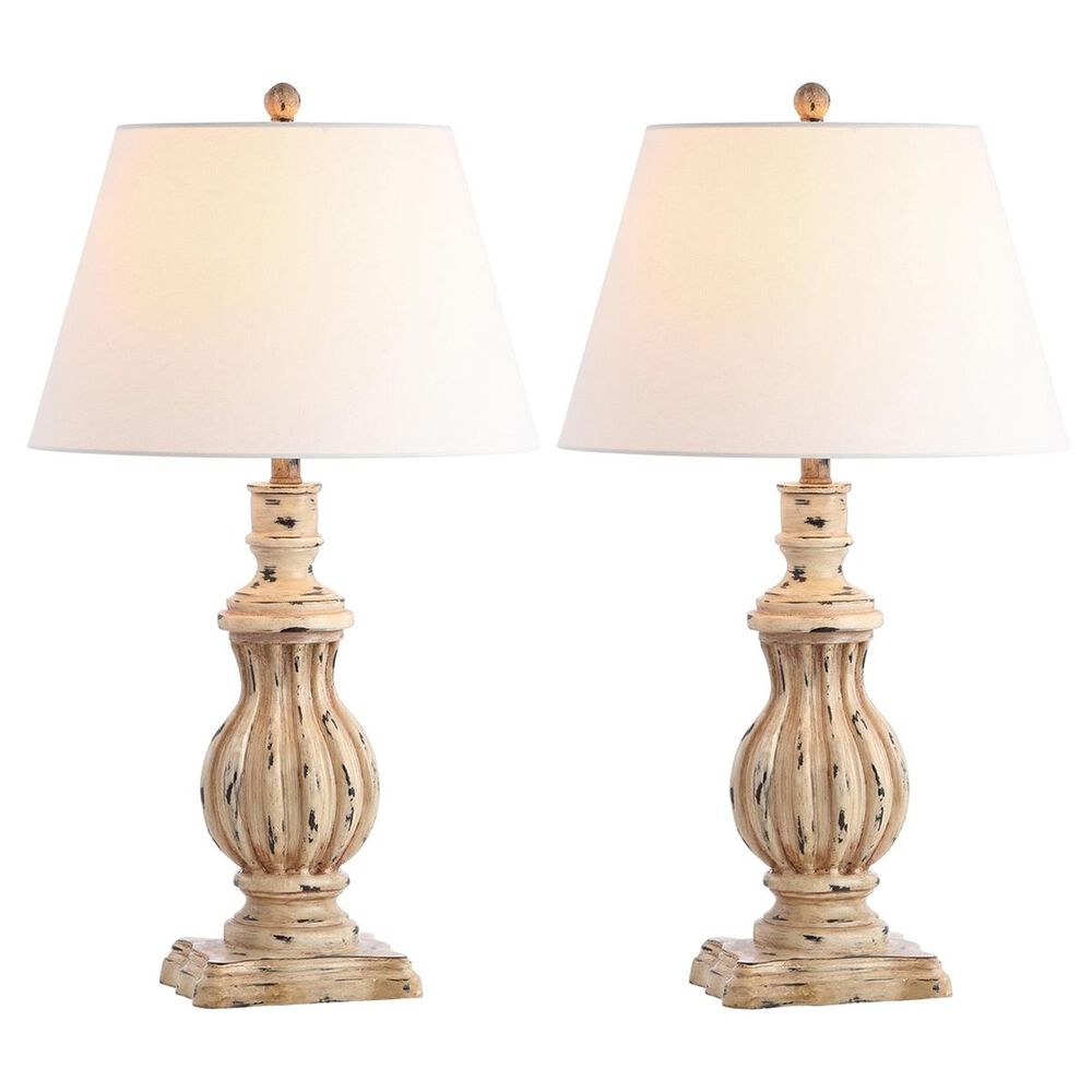 Safavieh Tanner Table Lamp in Antique Brown (Set of 2), , large