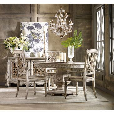 Hooker Furniture Chatelet Round Dining Table - Table Only, , large