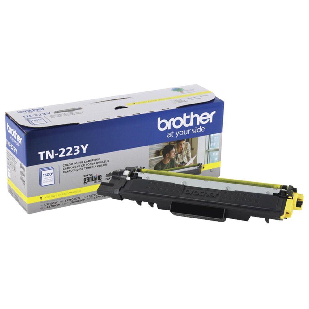 Brother TN223Y Standard Yield Toner Cartridge in Yellow, , large