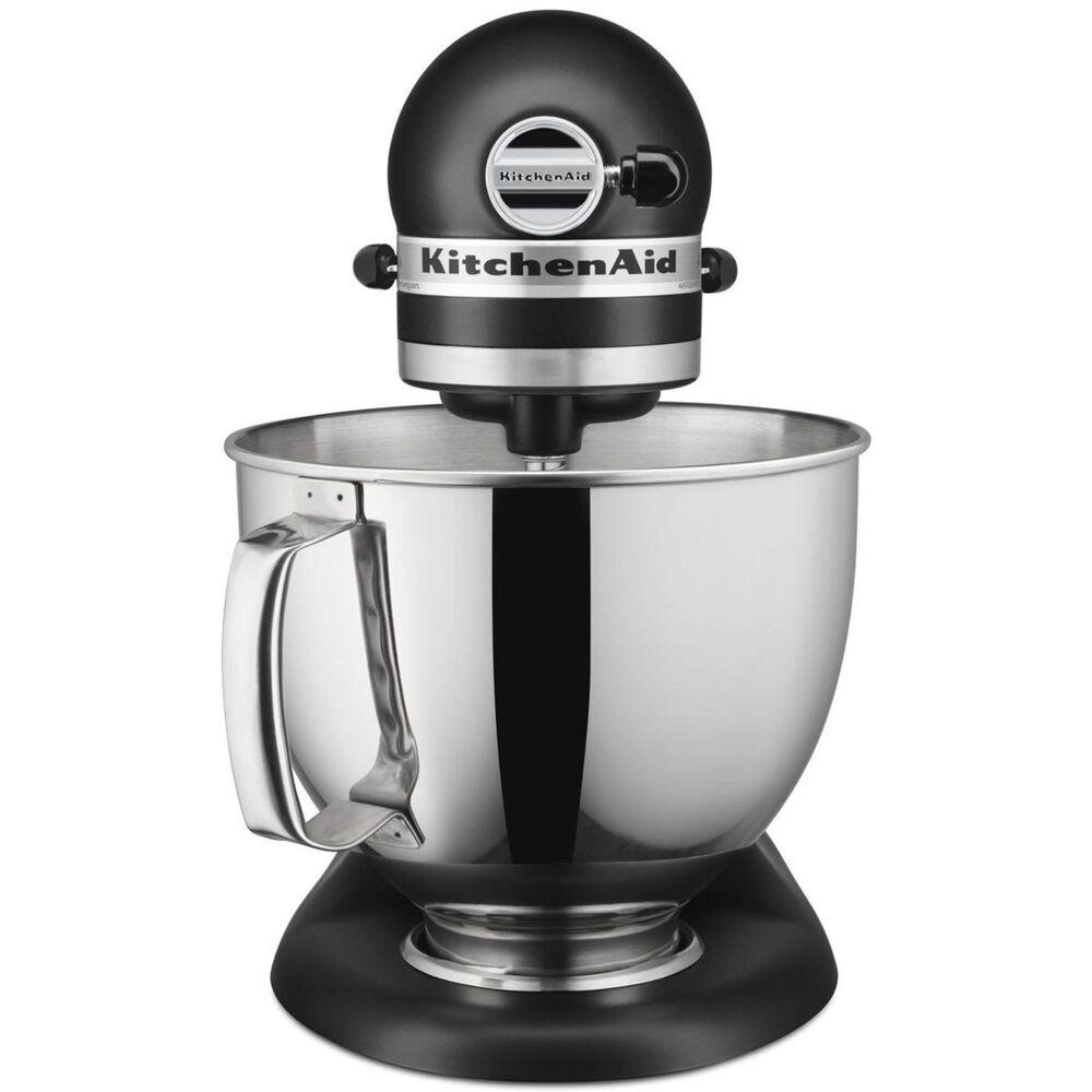 KitchenAid Artisan Series 5 Quart Tilt-Head Stand Mixer in Imperial Black, , large