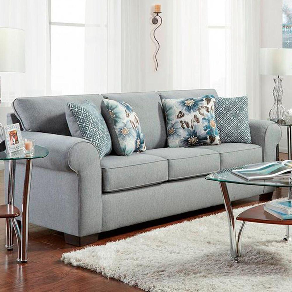 Arapahoe Home Queen Sofa Sleeper in Dryden Steel, , large