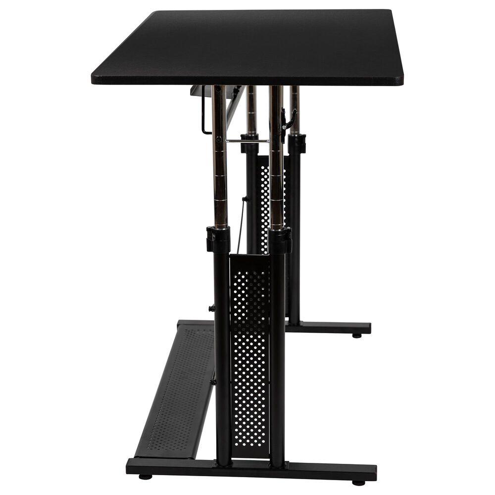 "Flash Furniture 35.75"" Adjustable Table in Black, , large"