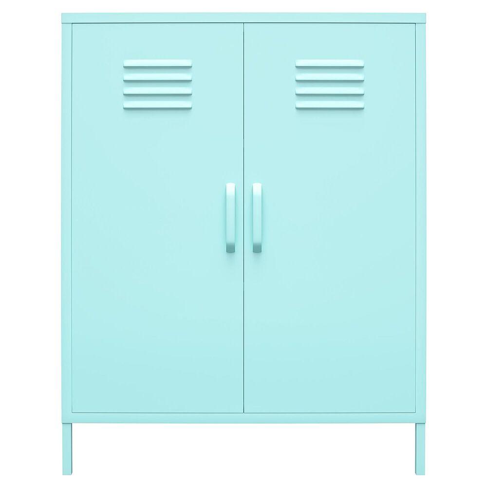 Novogratz Cache 2-Door Storage Cabinet in Spearmint, , large