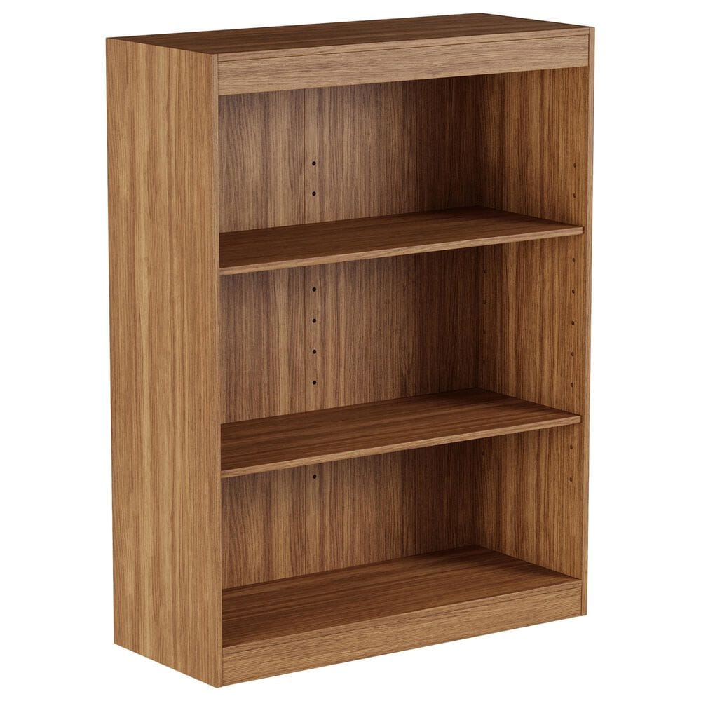 Timberlake Hastings Home 3-Tier Bookcase in Brown, , large