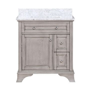 "Aurafina Wainwright 30"" Vanity with Top and Sink in Old Harbor Gray, , large"