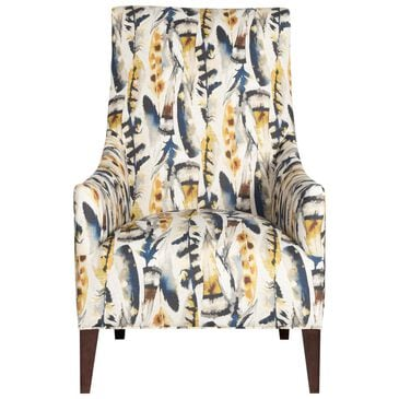 Century Rocco Chair in Multi Feather Pattern, , large