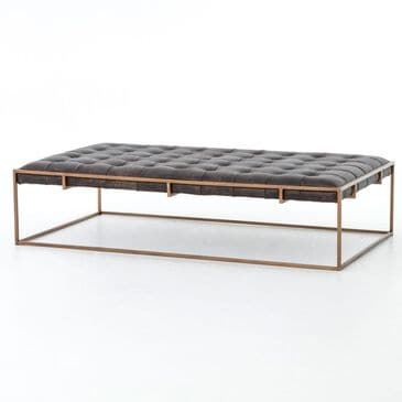 Four Hands Irondale Oxford Coffee Table in Ebony, , large