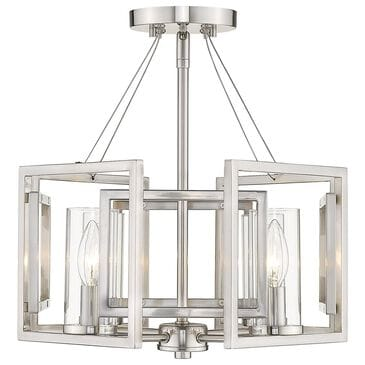 Golden Lighting Marco 4-Light Pendant in Pewter, , large