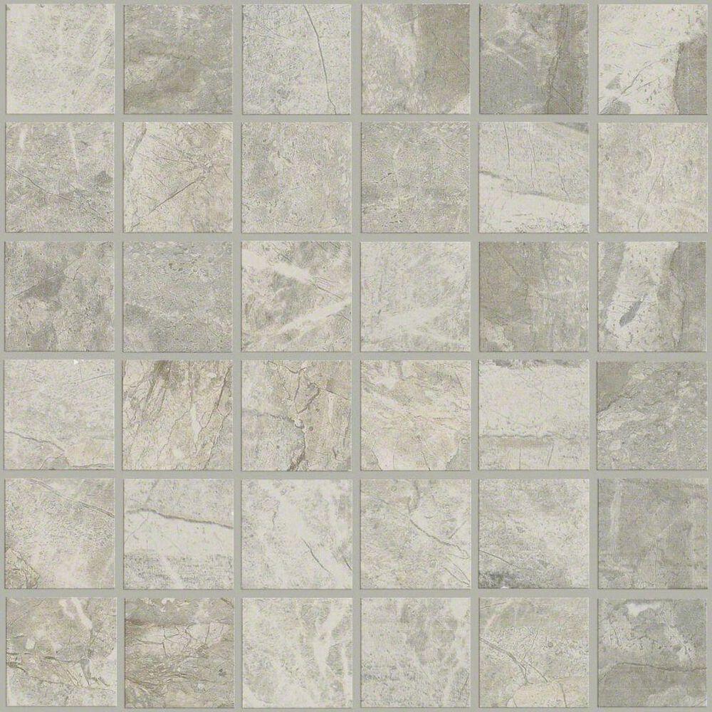 "Shaw Zenith Grey 13""x13"" Mosaic Tile, , large"
