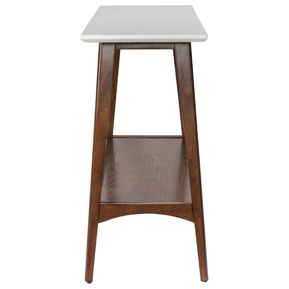 Hampton Park Parker Console Table in Off-White/Pecan, , large