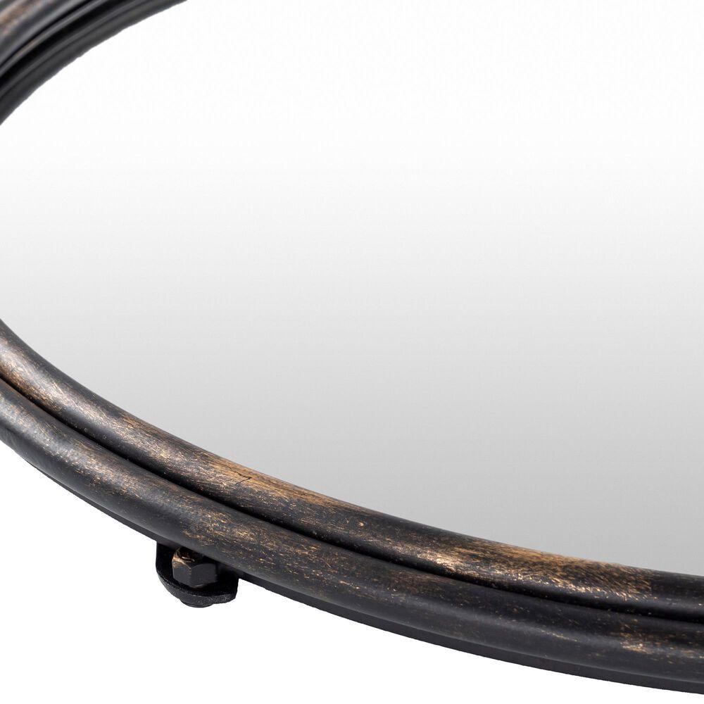 Surya Inc Birdsong Wall Mirror in Black, , large