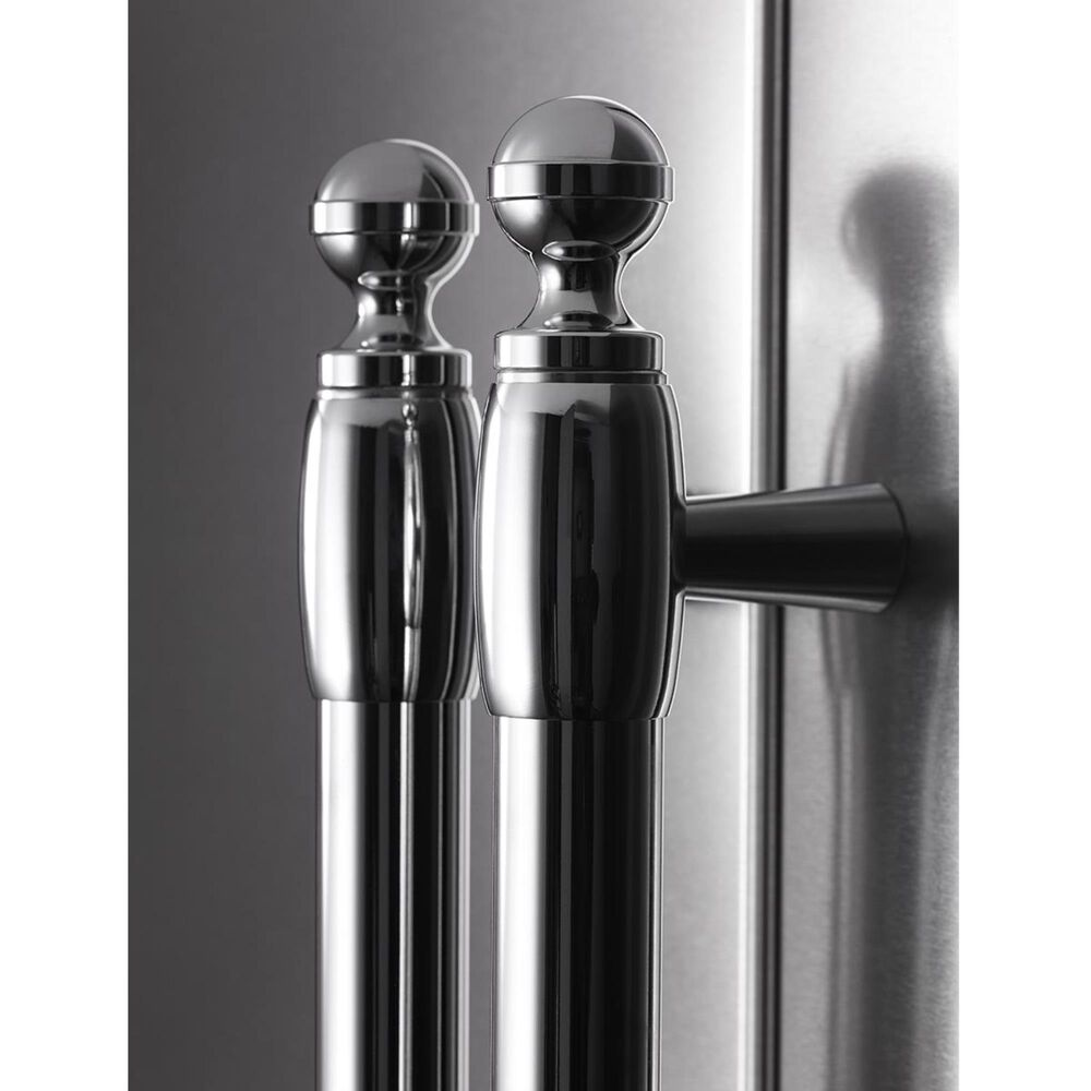 Bertazzoni Heritage French Door Refrigerators Handle Kit in Stainless Steel, , large