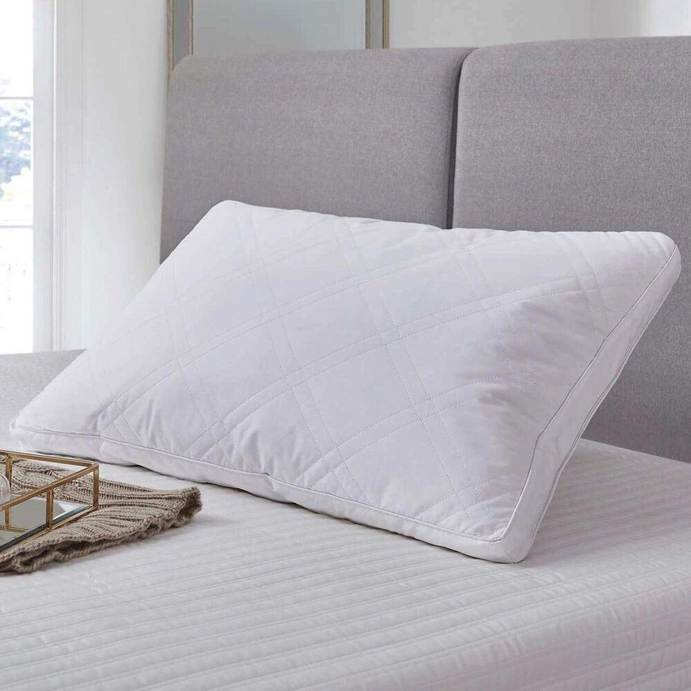 Blue Ridge Home Fashions Jumbo 2-Pack Down Pillows in White, , large
