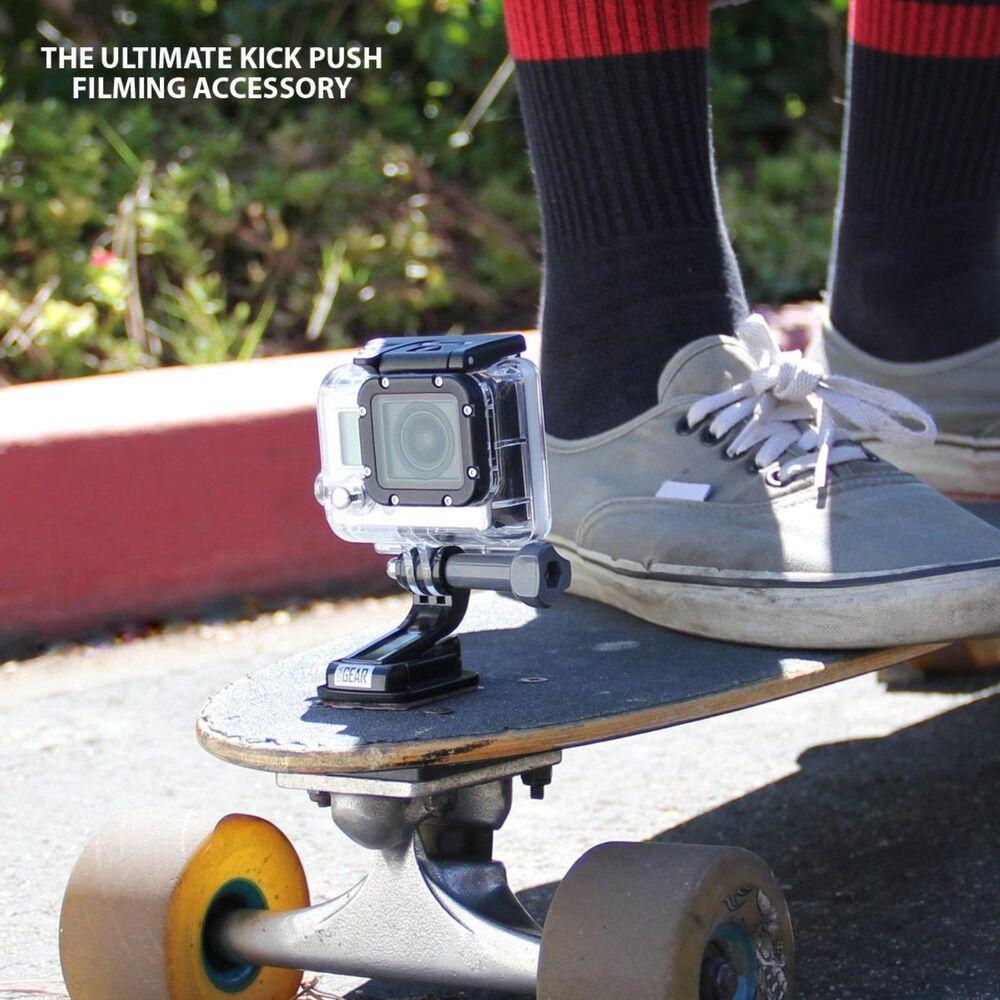 USA Gear Flat Adhesive Action Camera Mount w/ J Hook, , large