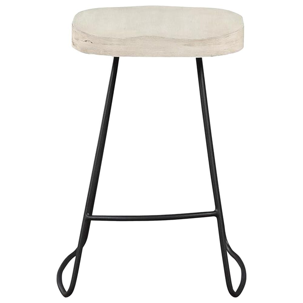 Shell Island Furniture Santa Clara Swivel Counter Stool in Putty, , large