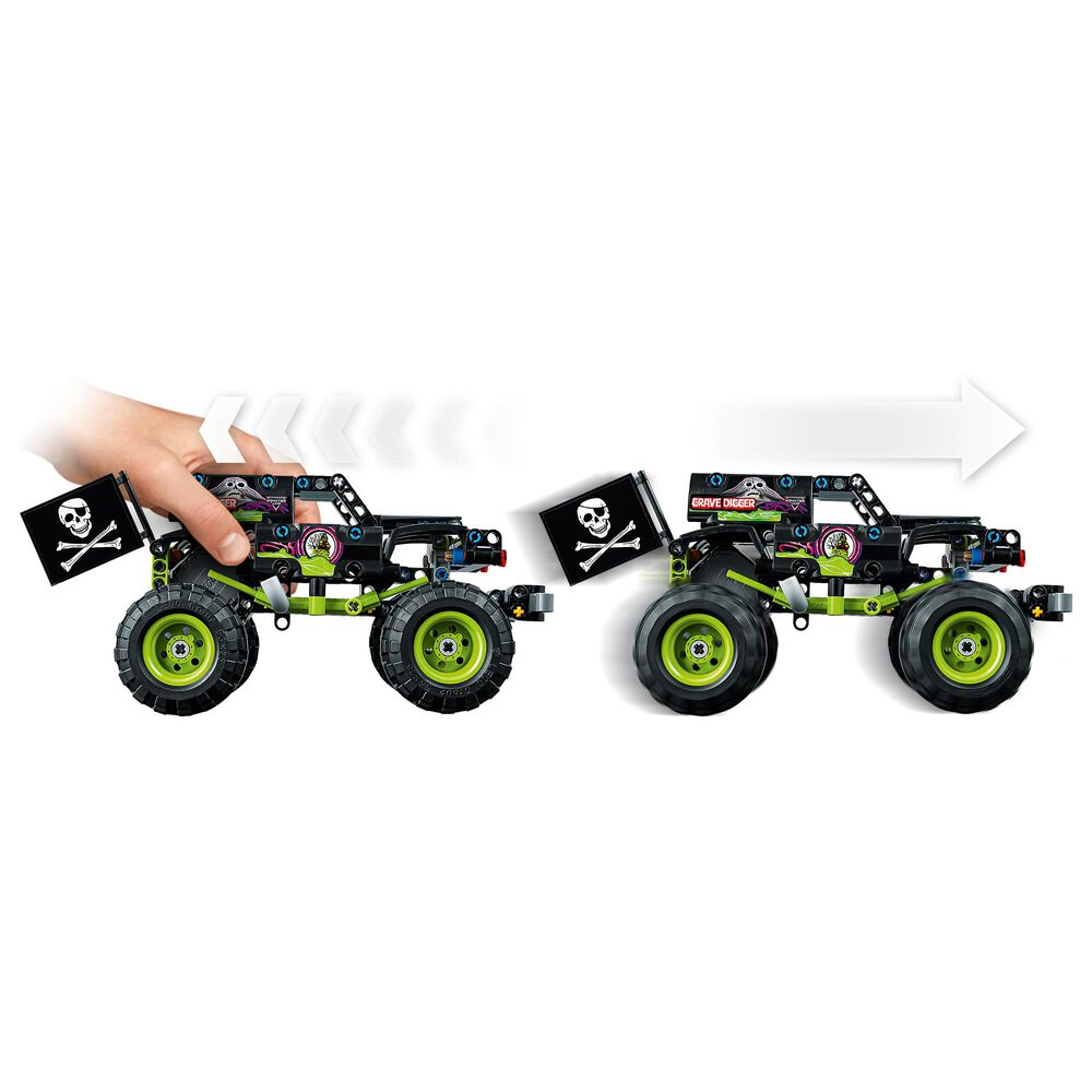 LEGO Technic Monster Jam Grave Digger Building Toy, , large