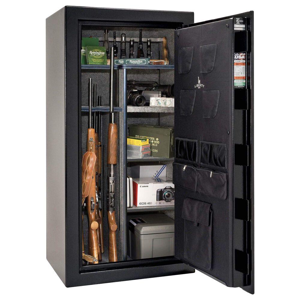 Liberty Safe & Security USA 30 Gun Safe Electronic Lock in Textured Black, , large