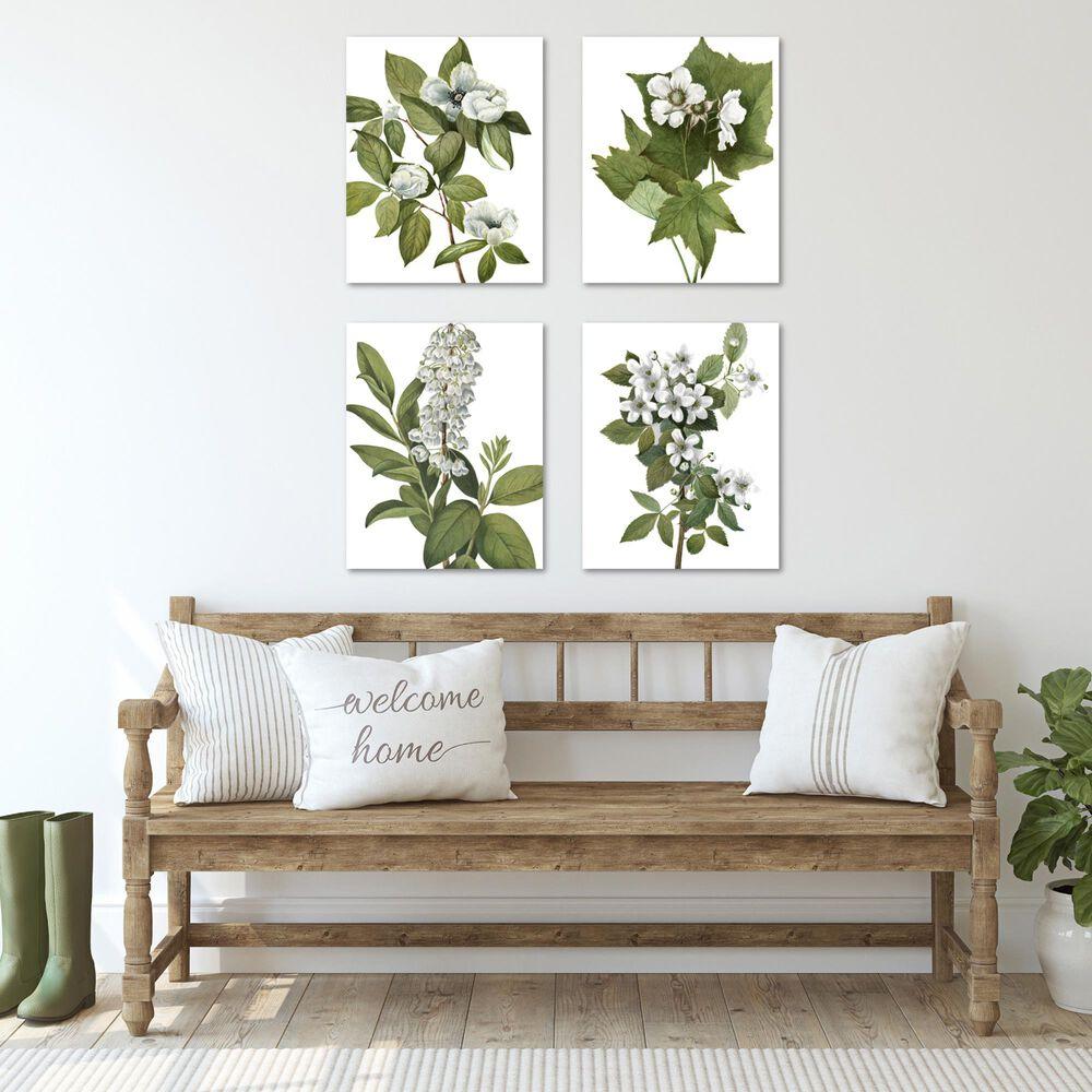 Courtside Market Delicate Foliage 4-Piece Canvas Set, , large