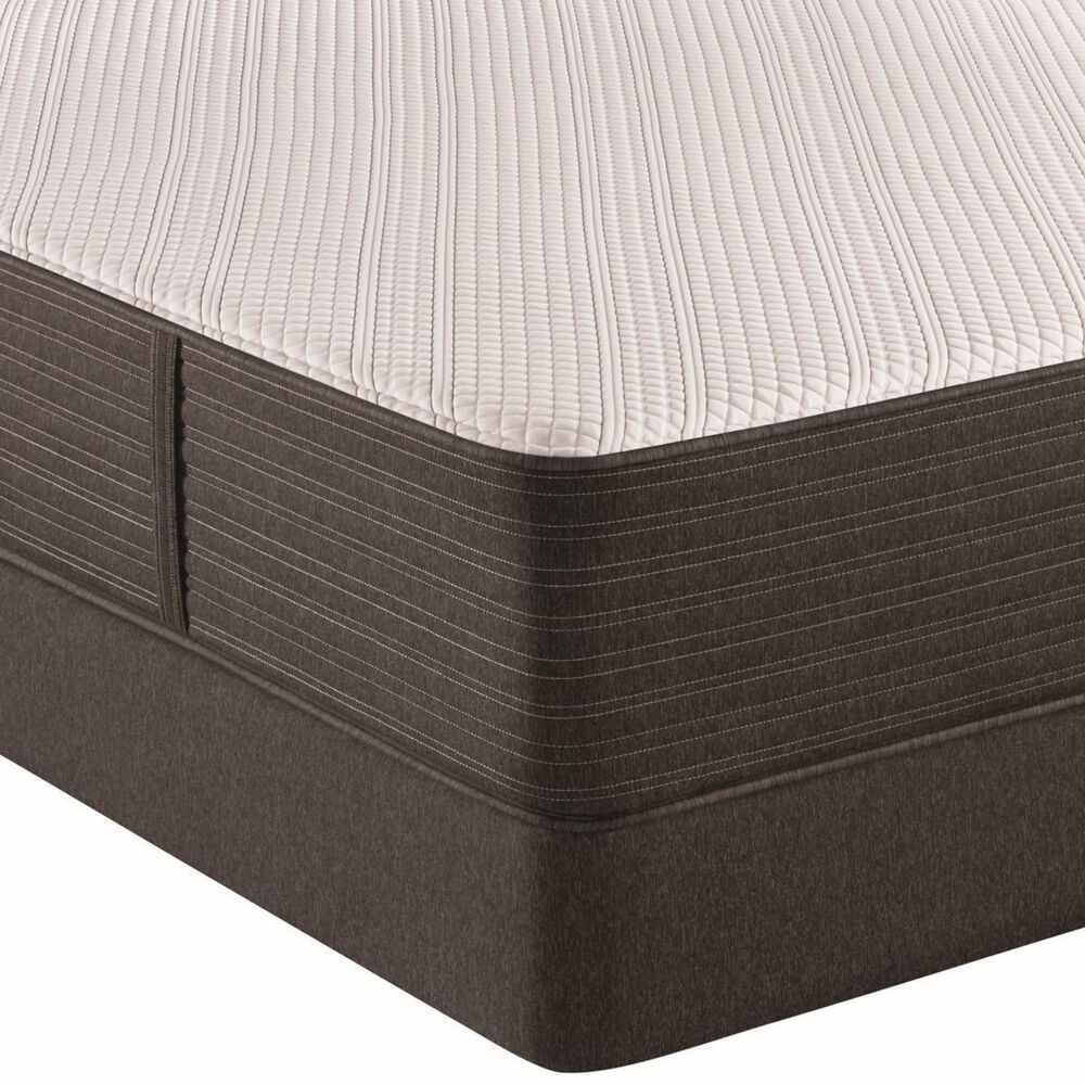Beautyrest Hybrid 1000-C Plush Full Mattress with Low Profile Box Spring, , large