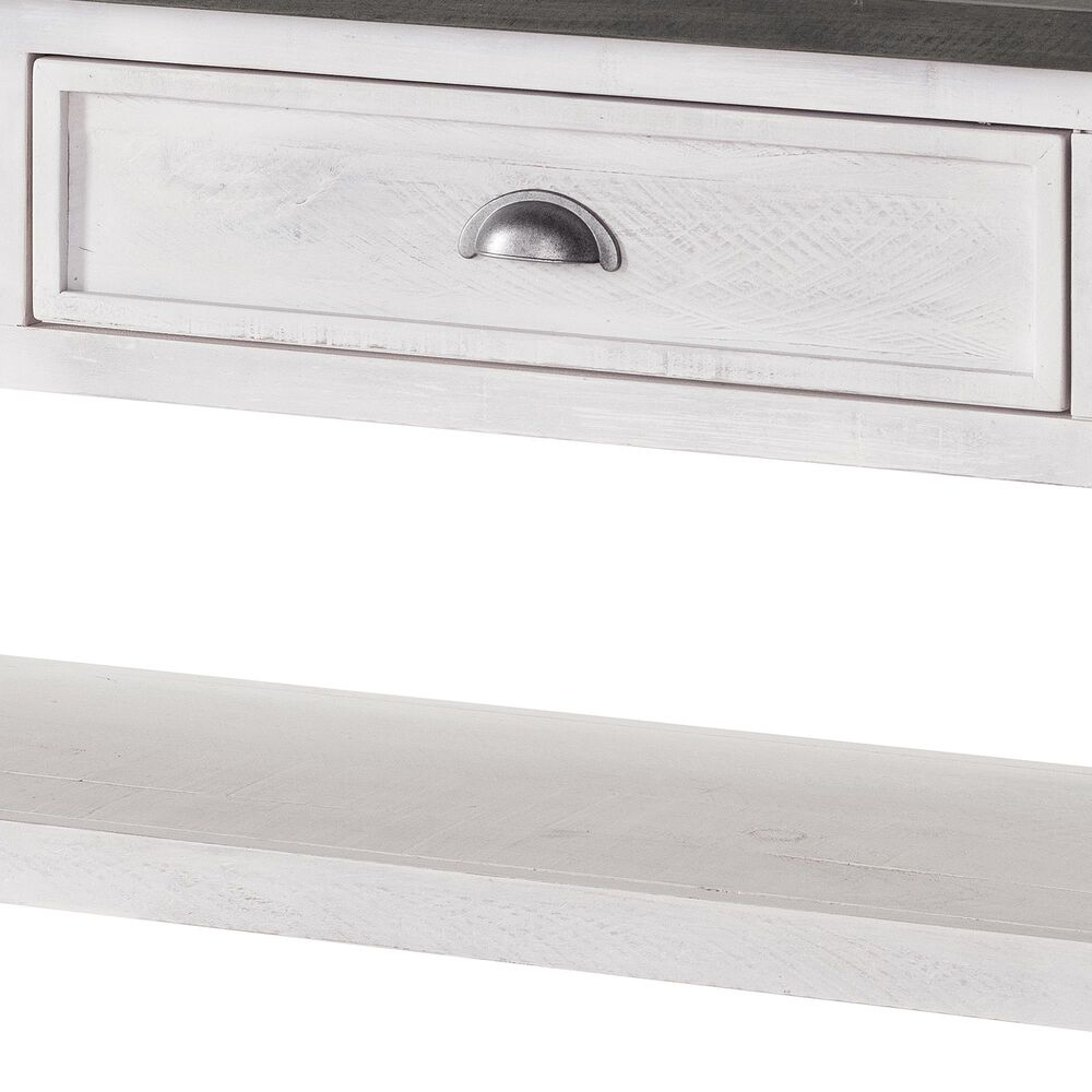 Martin Svensson Home Monterey Sofa Table in White/Grey, , large