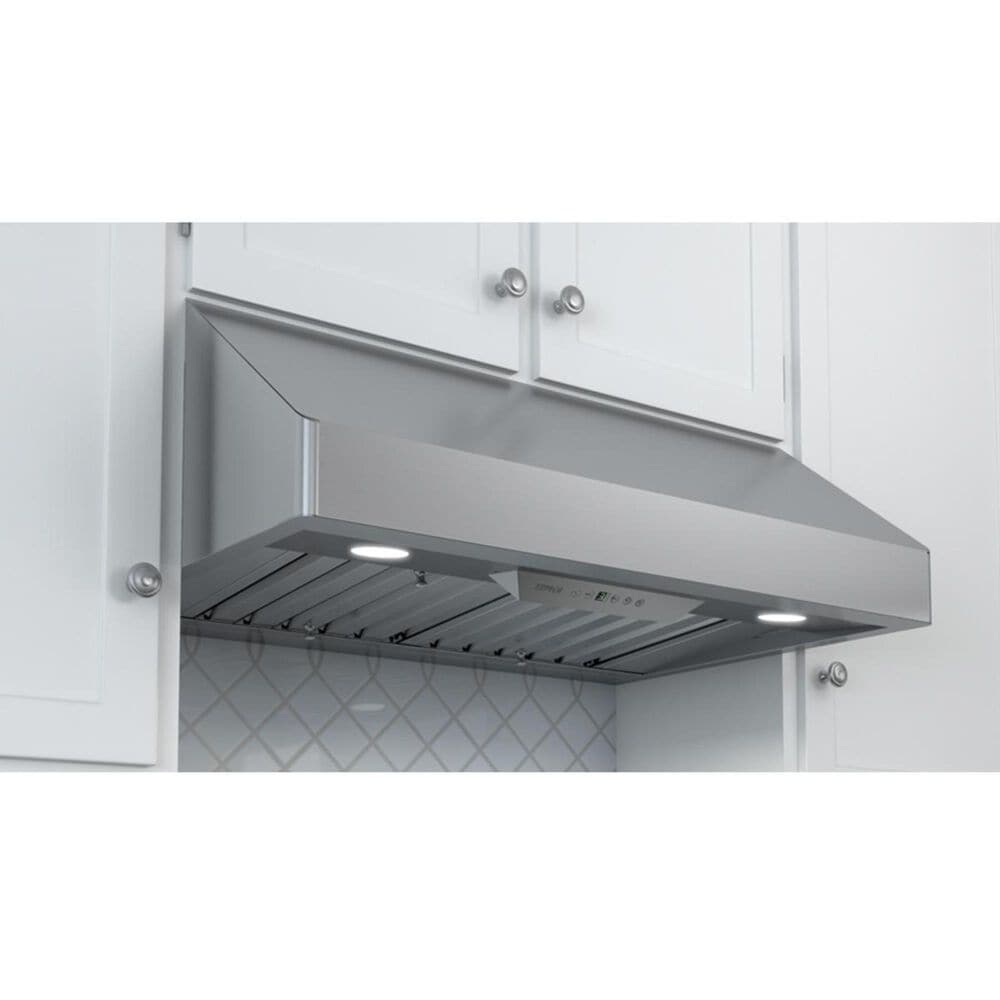 """Zephyr 12"""" Duct Cover in Galvanized Steel, , large"""