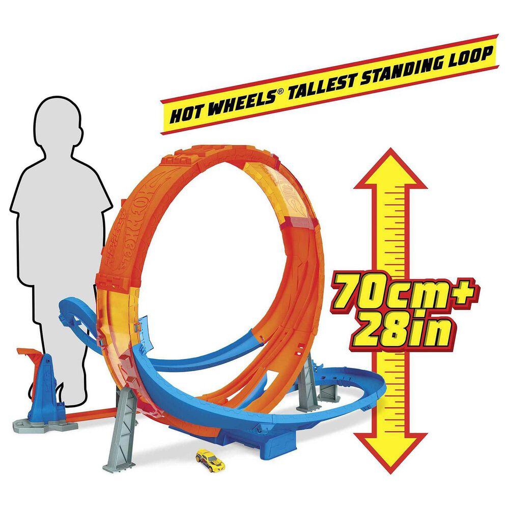 Hot Wheels Action Massive Loop Mayhem Track Set, , large