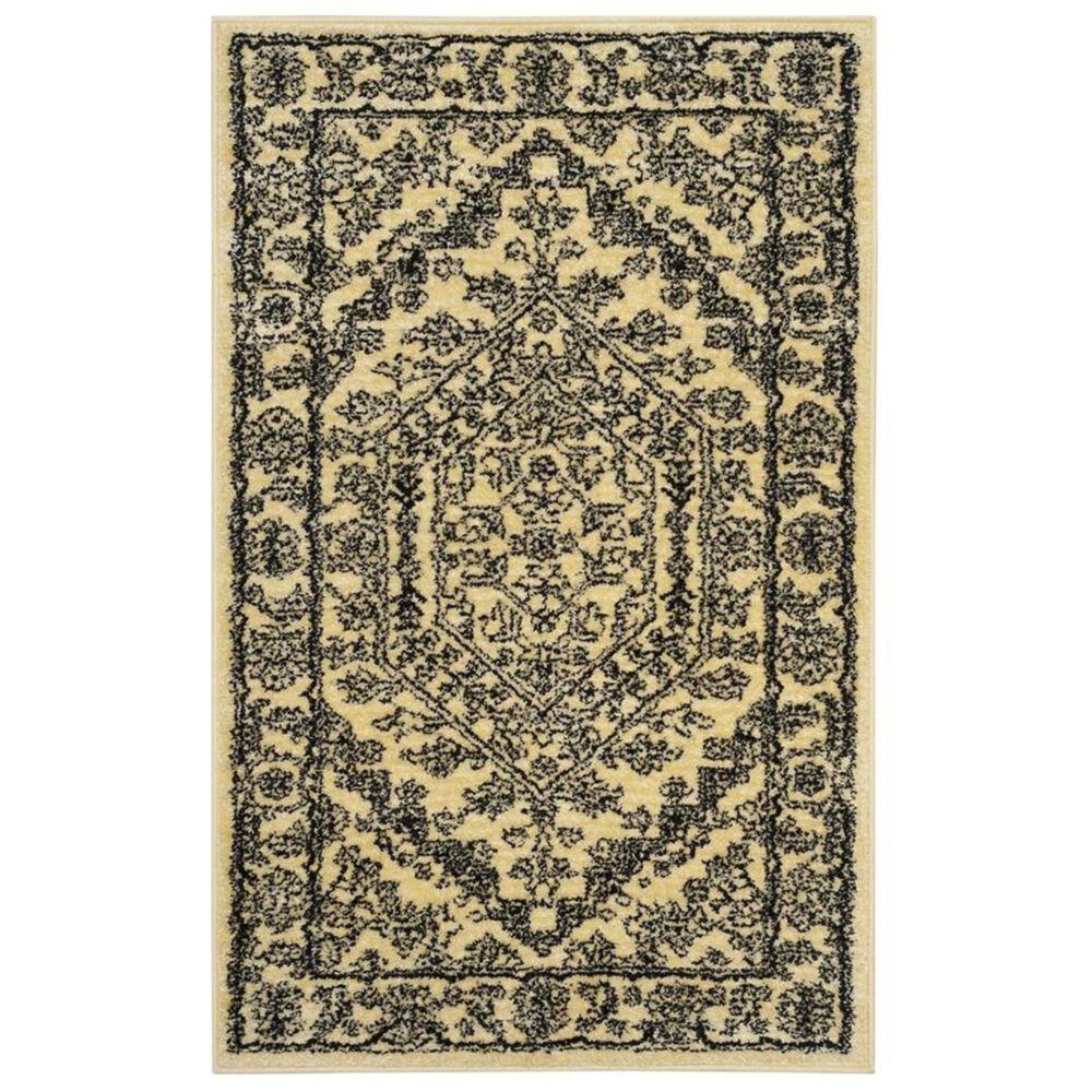 Safavieh Adirondack ADR108H 3' x 5' Gold and Black Area Rug, , large
