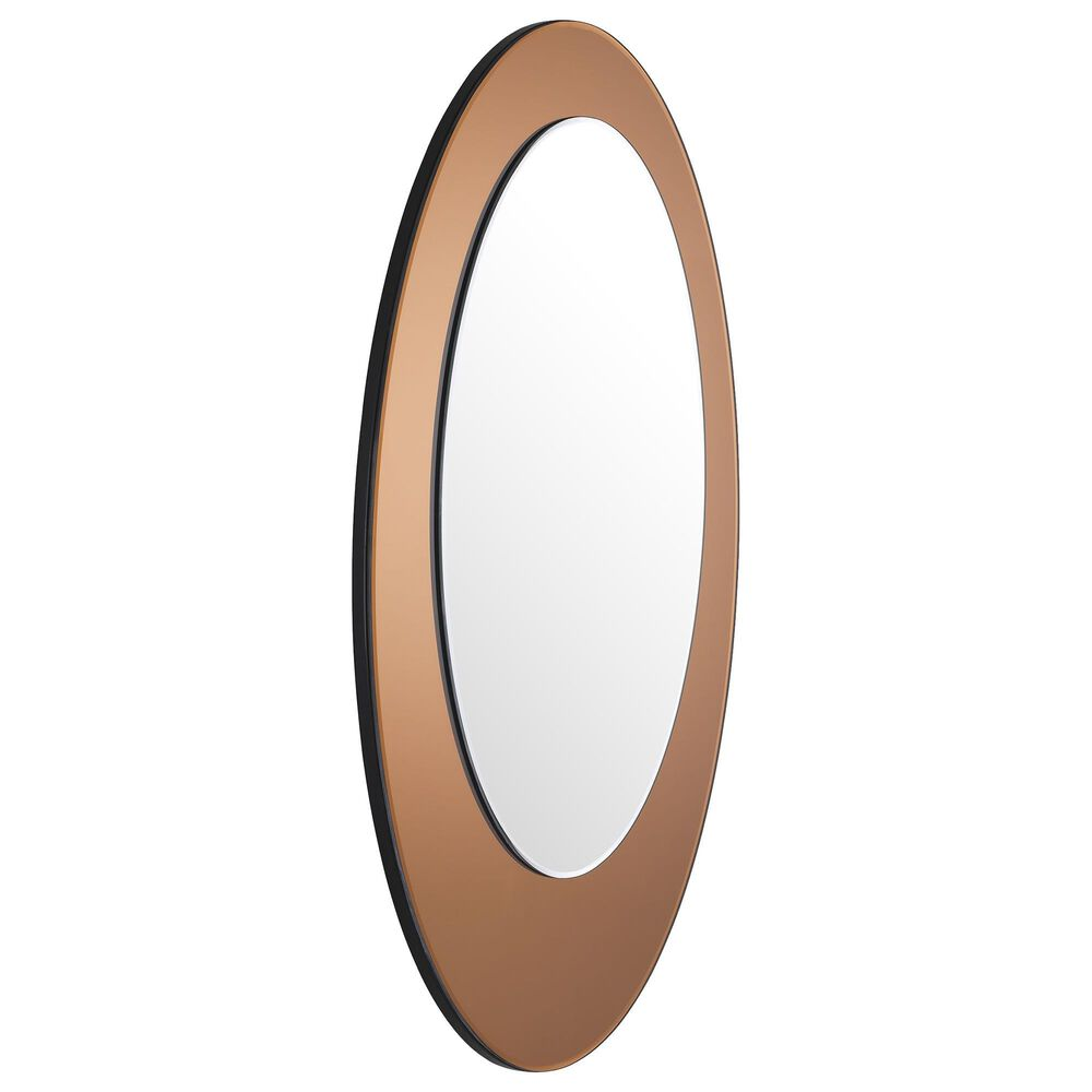 "Blue Sun Designs Amber 35"" x 25"" Oval Mirror, , large"