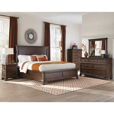 Hawthorne Furniture Telluride 4-Piece Queen Bedroom Set in Vintage Oak, , large