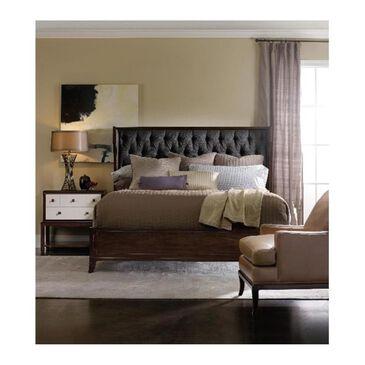 Hooker Furniture Palisade Queen Upholstered Shelter Bed in Carbon, , large