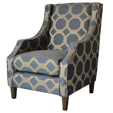 Waltham Accent Chair in Gray, , large