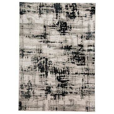 """Feizy Rugs Micah 3339F 6'7"""" x 9'6"""" Black Area Rug, , large"""