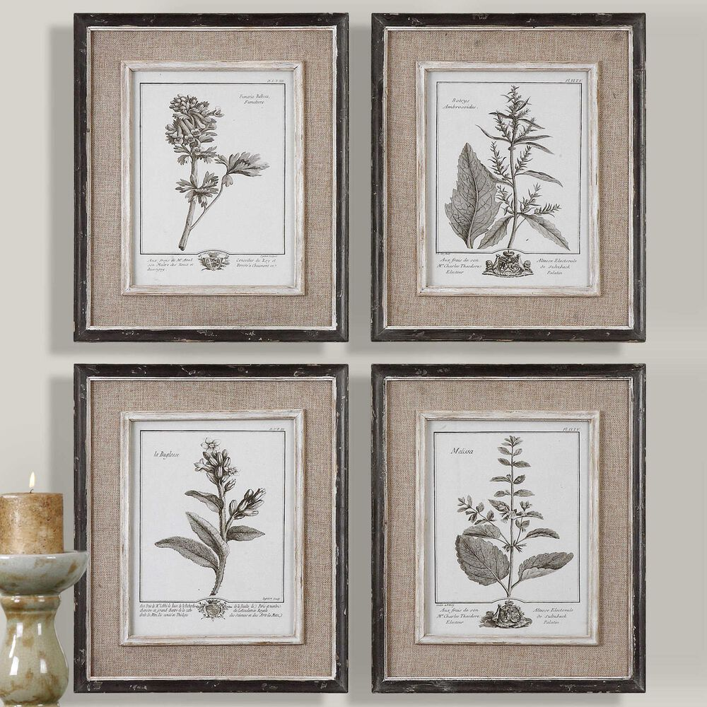 Uttermost Casual Framed Art (Set of 4), , large