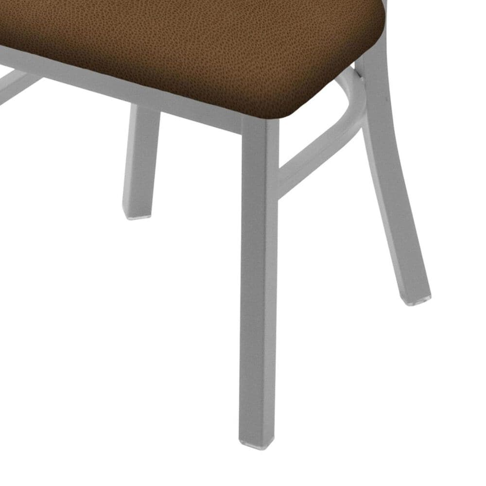 """Holland Bar Stool 620 Catalina 18"""" Chair with Anodized Nickel and Rein Thatch Seat, , large"""