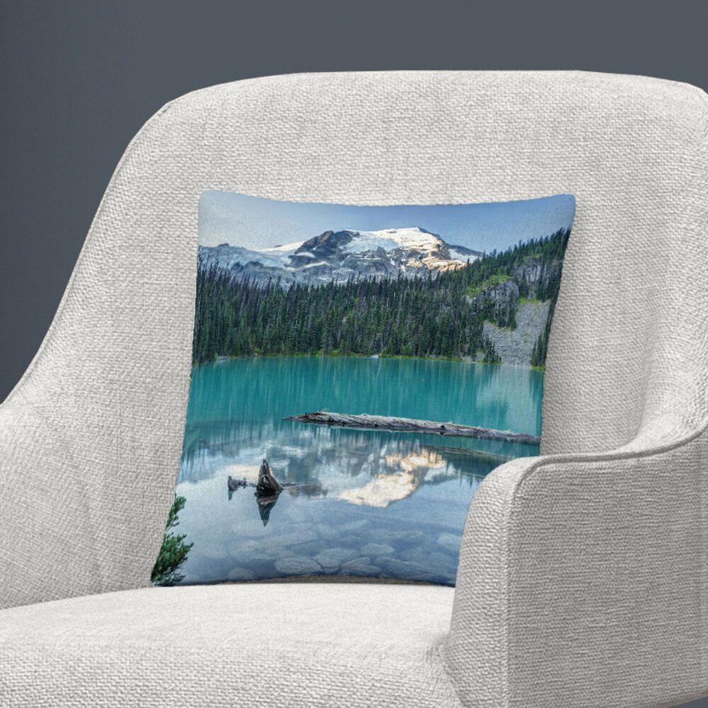 Timberlake Pierre Leclerc 'Natural Beautiful British Columbia' 16 x 16 Decorative Throw Pillow, , large