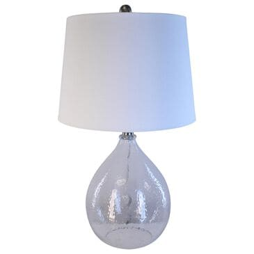 TLC Table Lamp with White Shade in Clear, , large