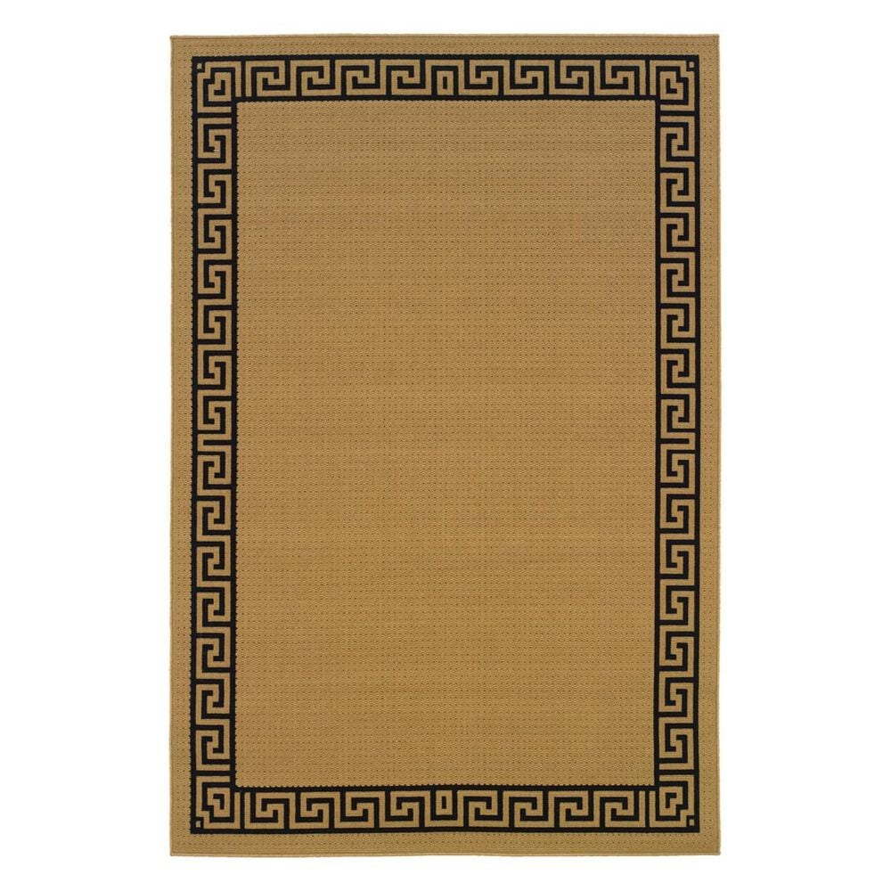 """Oriental Weavers Lanai 782Y1 2"""" x 3"""" Beige Scatter Rug, , large"""
