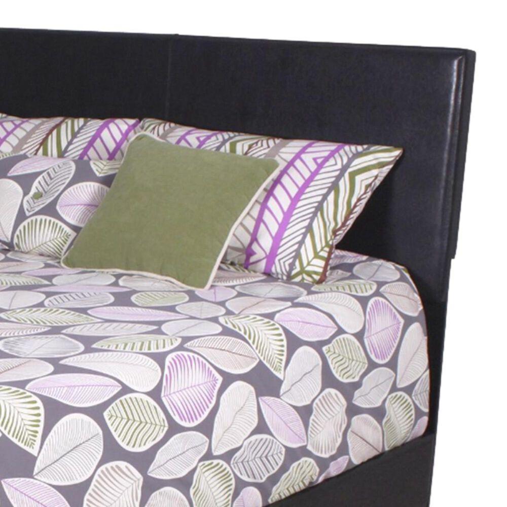 Claremont Erin Queen Panel Bed in Black, , large
