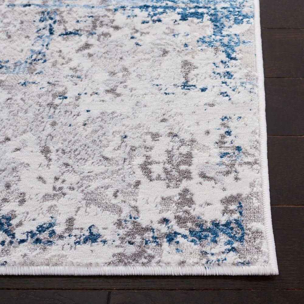"Safavieh Amelia  AMA207 5'5"" x 7'7"" Gray and Blue Area Rug, , large"