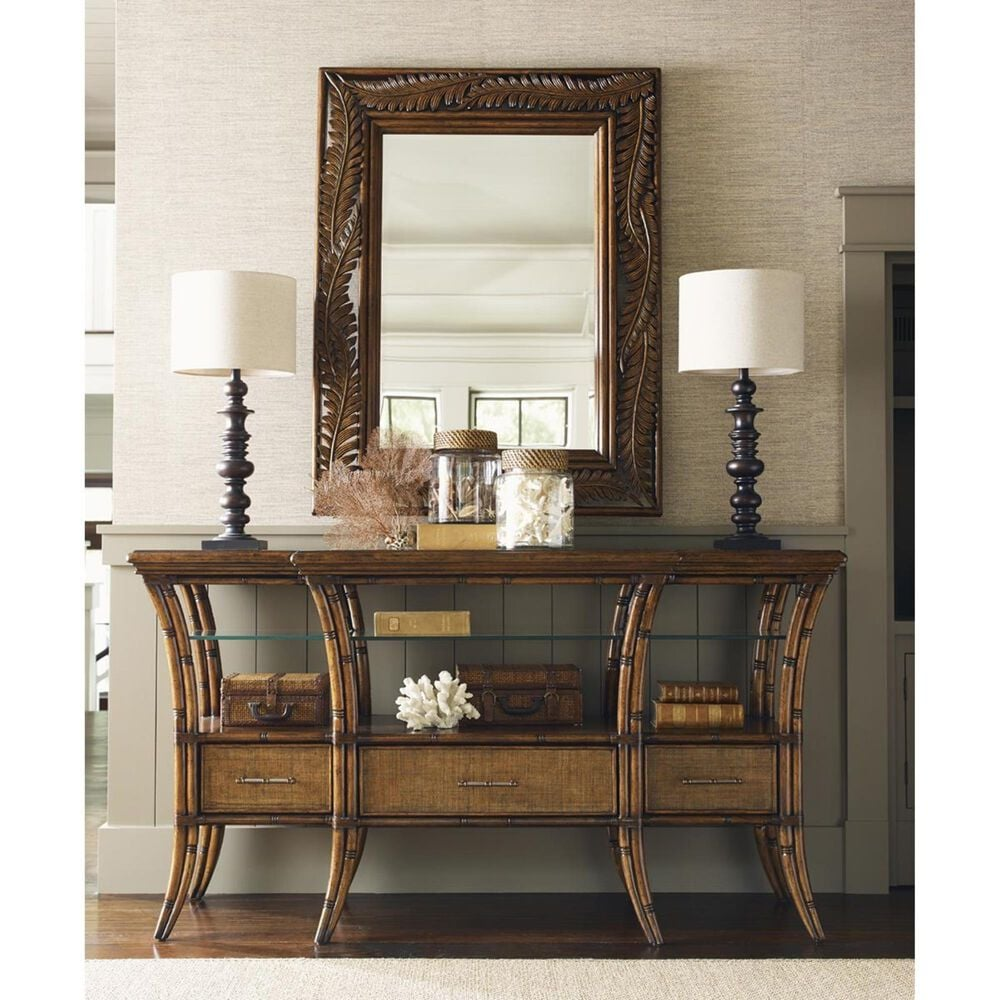 Tommy Bahama Home Bali Hai Oyster Reef Sideboard in Warm Brown, , large